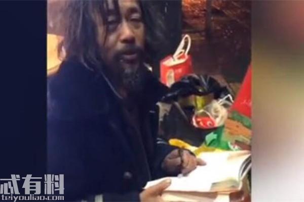 抖音沈先生原名叫什么哪里人?上海乞丐網紅沈巍身世為什么流浪?