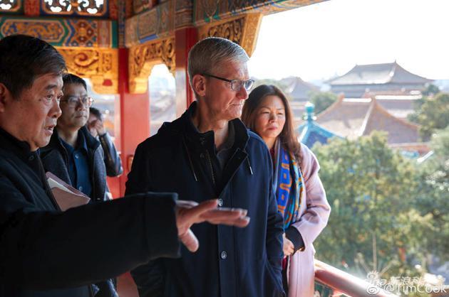 苹果CEO库克参观故宫说了什么?与池宇峰对话大谈App开发等话题