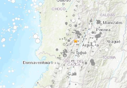 哥倫比亞地震怎么回事 6.1級地震未傳出傷亡或損害災情