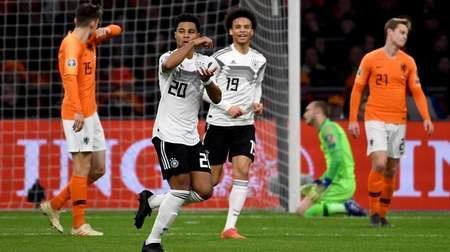 德國絕殺荷蘭 德國隊23年以來首次客場擊敗荷蘭