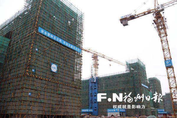 【福州滨海实验学校地址】福州滨海实验学校主体结构封顶 预计9月投用