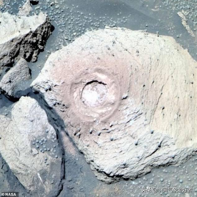 火星拍到蘑菇照片能证明火星有生命吗? 火星蘑菇照片高清版
