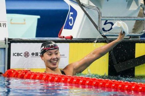 傅园慧获仰泳冠军扛起了中国仰泳大旗 坦言后面只会越来越好