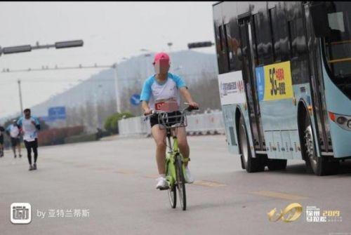 马拉松骑车遭禁赛怎么回事?马拉松骑车为什么遭禁赛事件始末原委