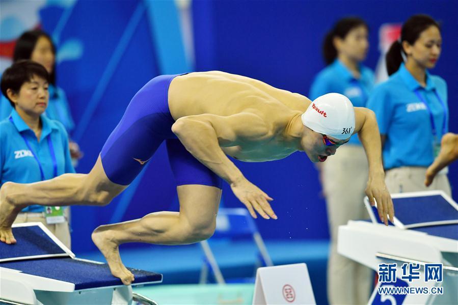 (体育)(2)游泳——全国冠军赛:孙杨获男子800米自由泳冠军