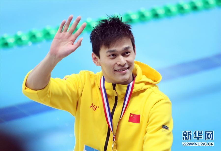 全国冠军赛孙杨800米冠军 成绩7分48秒03 第2张