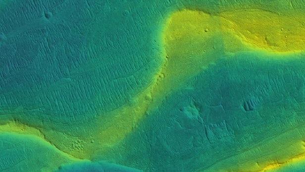 火星曾有大江大河 火星大江大河照片 火星有生命适合人类么