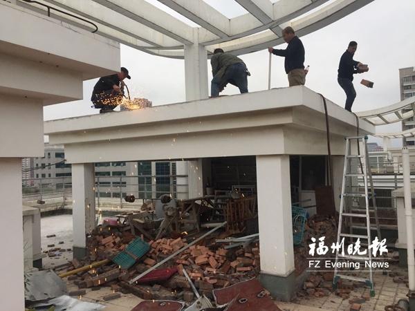"""福州鼓楼及时拆除9处安全隐患""""两违"""" 遏制新增违建5处"""