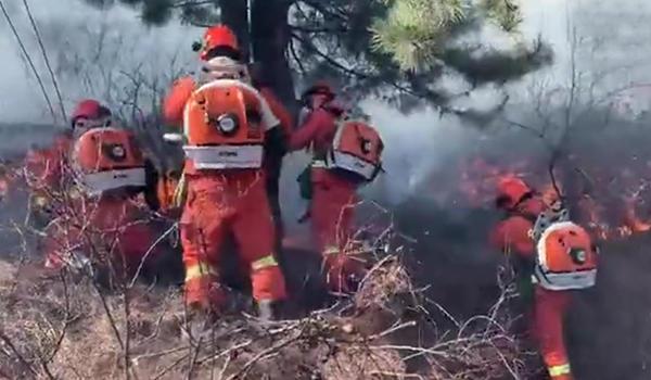 山西沁源森林大火有多少人受伤?山西沁源森林大火原因揭秘现场图