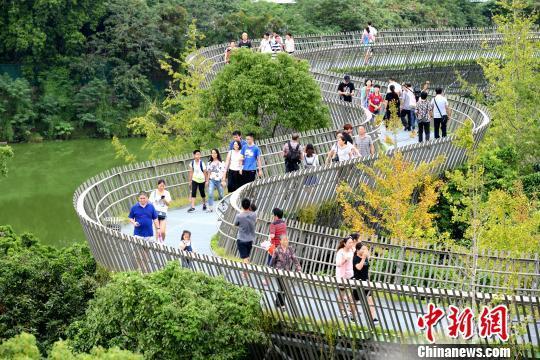 一条绿道逛福州:登山看城游园亲水