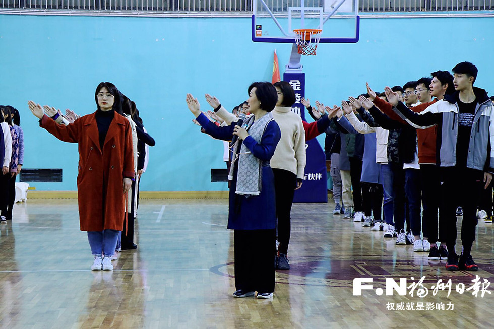 第二屆數字中國建設峰會志愿者形象禮儀強化集訓結束