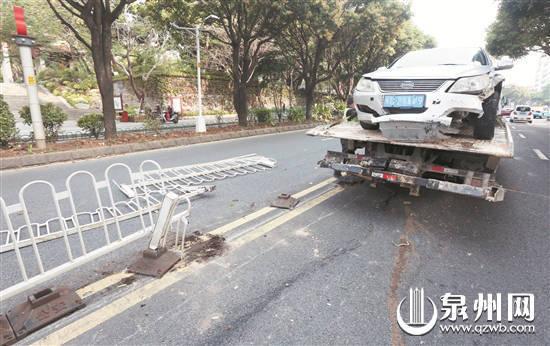 泉州市区:两起事故并不严重 司机咋都弃车而逃
