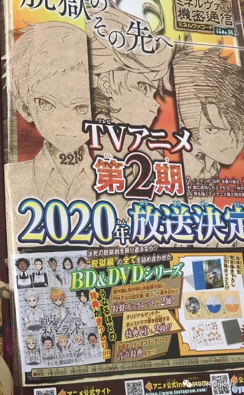 《约定的梦幻岛》第二季制作决定 2020年开播