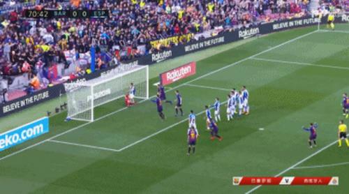 巴萨vs西班牙人比赛回顾 梅西梅开二度武磊表现活跃