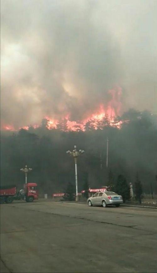 山西沁源森林大火现场照曝光火光冲天 山西沁源森林大火最新消息