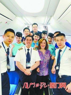 60周岁外籍机长退休了 厦航拥有来自22个国家外籍飞行员