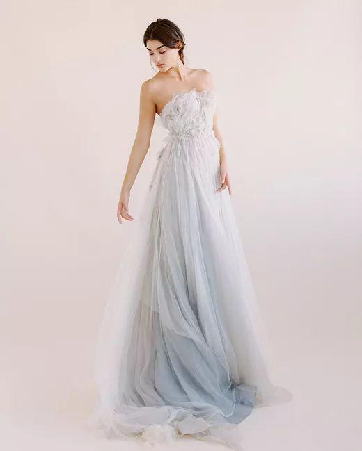 如夢似夢 手工染色婚紗帶你走入云山深處