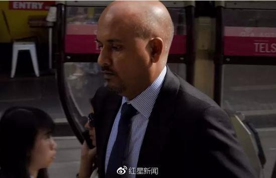 纳维被判处至少六年监禁 图据《悉尼先驱晨报》