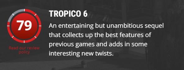 经济系统太繁琐!《海岛大亨6》IGN打出7.3分