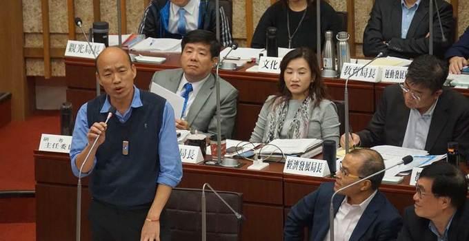 民進黨逼韓國瑜簽不選2020文件 網友怒罵:無恥
