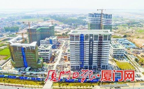 """厦大国家大学科技园六月竣工 争取在""""九八""""期间开业"""