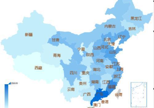 最高法司法大数据:广东上海福建金融诈骗案件最多