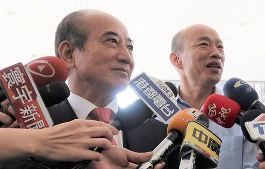 兩人罕見同框 韓國瑜大呼與王金平見面沒壓力