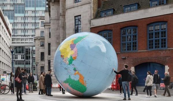 蔡英文母校認同一中 將校內地圖臺灣和大陸標注相同顏色