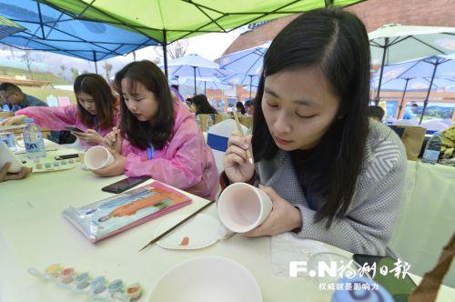 35米长龙窑落户闽清海丝精灵谷 市民参与制瓷全程