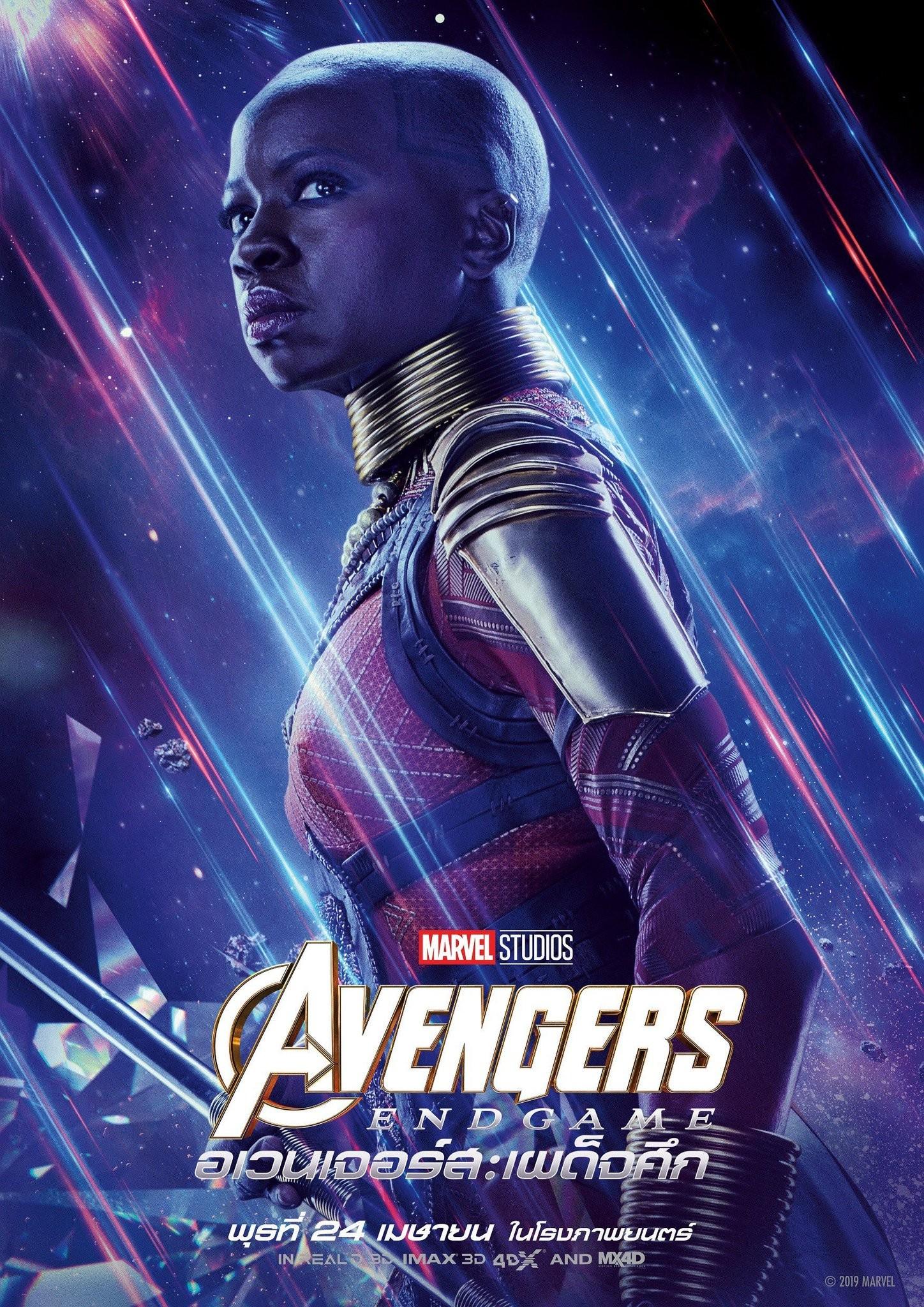 《復仇者聯盟4》12位角色海報公布 黑寡婦顏值高太美了