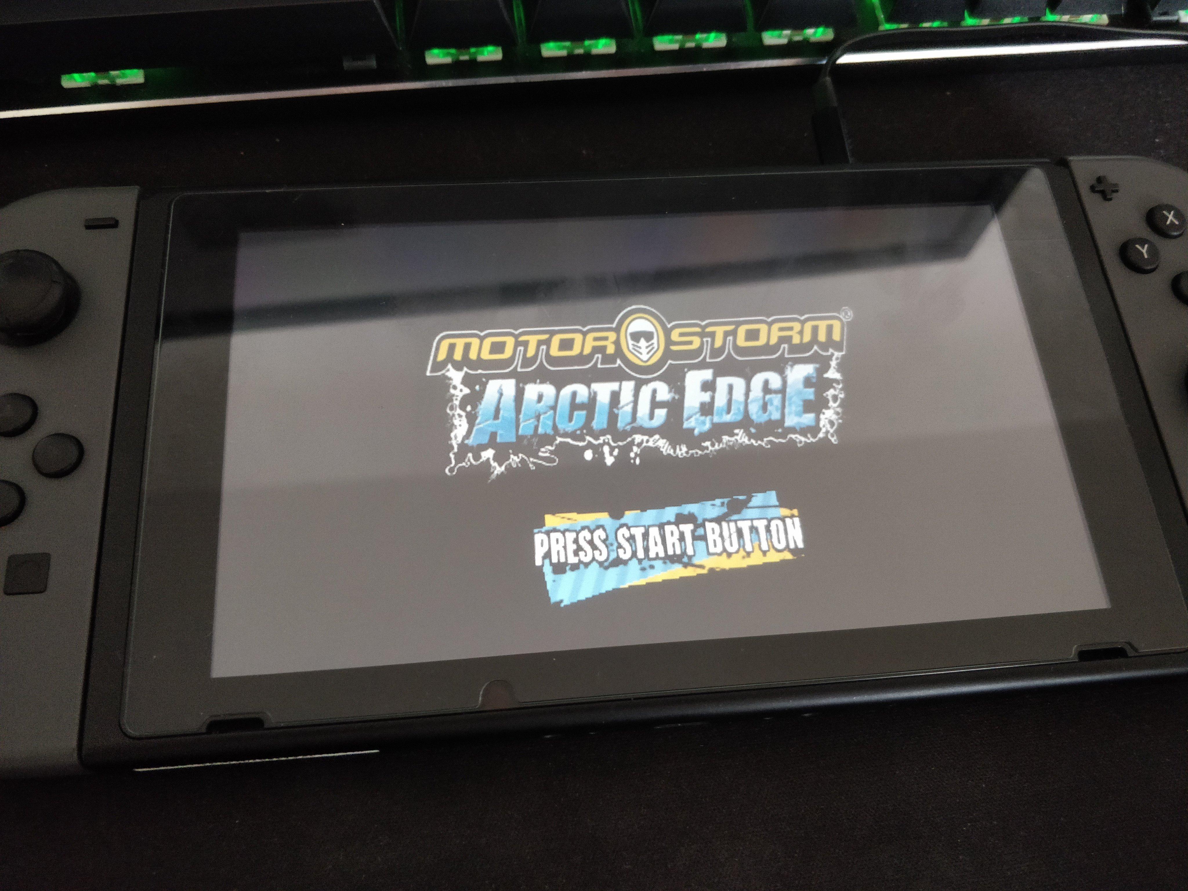 任天堂Switch已可用PSP模拟器运行两款游戏