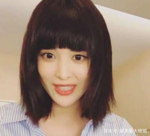 古力娜扎新发型是什么样 有刘海的娜扎被吐槽像低配版范冰冰
