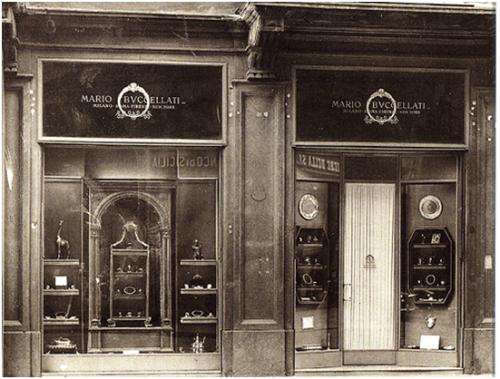 1919年,布契拉提位于意大利米兰的首间门店开业