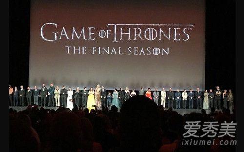 权游最终季首映礼是怎么回事?权力的游戏第八季什么时候播