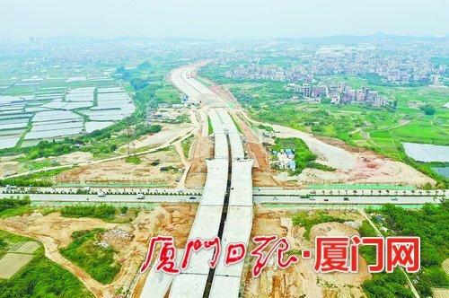 """同安重点项目一季度实现""""开门红"""" 交地完成序时计划203%"""