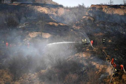奮戰6天6夜 山西沁源森林火災外線明火全部撲滅