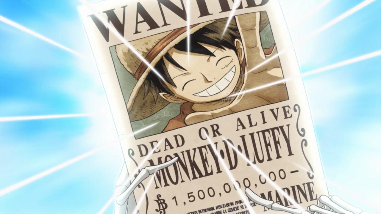 海贼王动画879集,路飞喜提15亿赏金,四皇们的表情各不相同