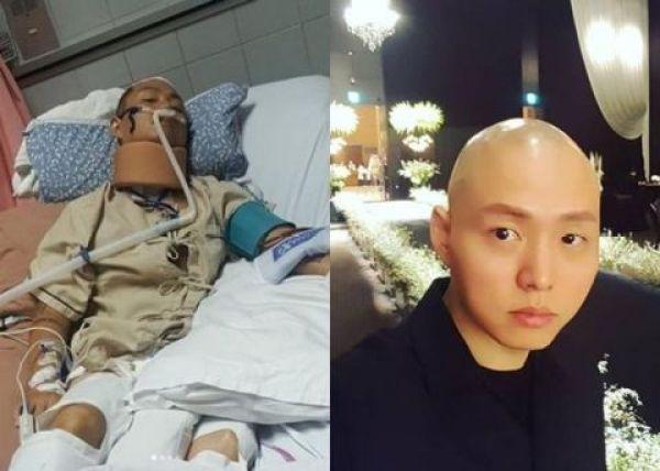 韩国饶舌歌手KK跳水重伤全身瘫痪 巨额的手术费愁坏其妻