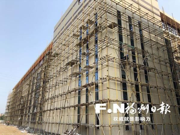 福州滨海新城阿石创溅射靶材生产基地主体工程5月竣工