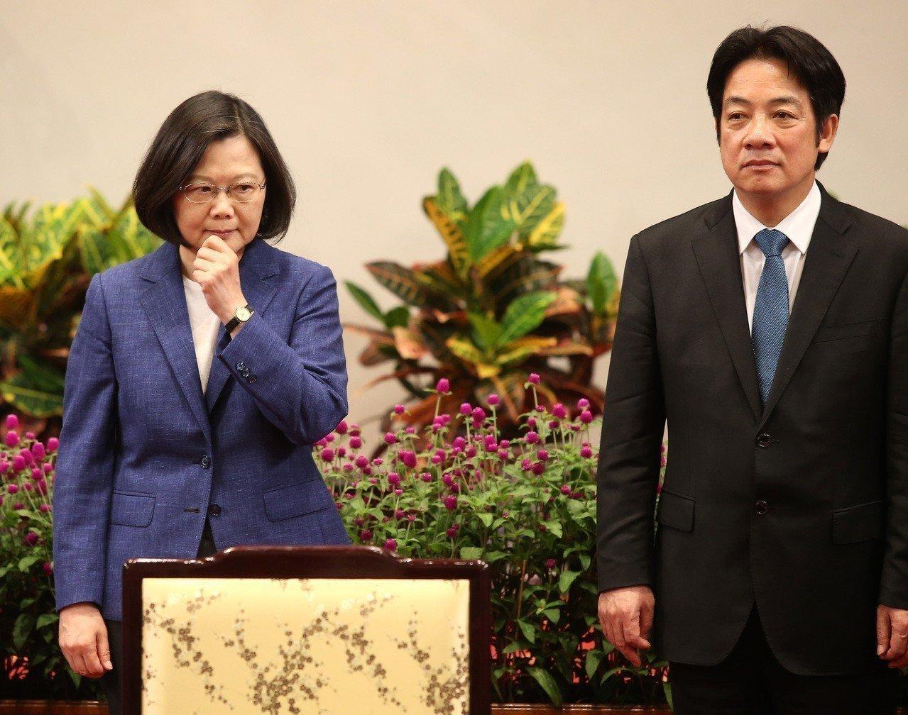 蔡英文称不排除和赖清德合作 台网友:都不配领导台湾