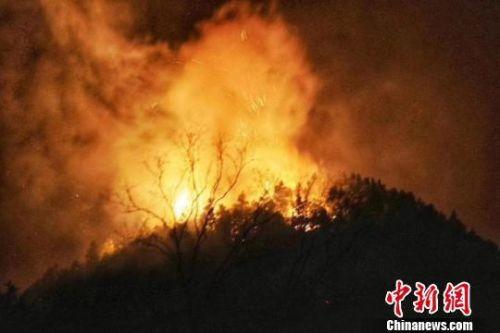景德鎮森林火災嚴重嗎?景德鎮森林火災原因是什么現場圖