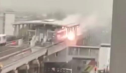 上海地鐵站遭雷擊現場照片曝光 上海地鐵站為什么會遭雷擊?