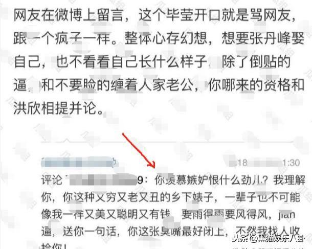 张丹峰出轨毕滢与洪欣婚变始末 洪欣删微博 毕滢天涯账号扒皮(8)