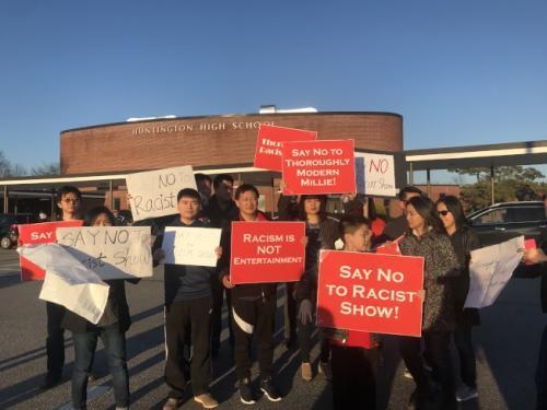 纽约长岛一高中音乐剧疑丑化华人 引当地民众抗议