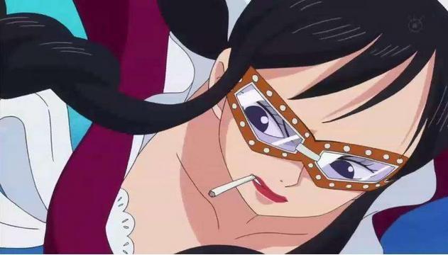 海贼王里爱吸烟的美女盘点 一点都没违和感