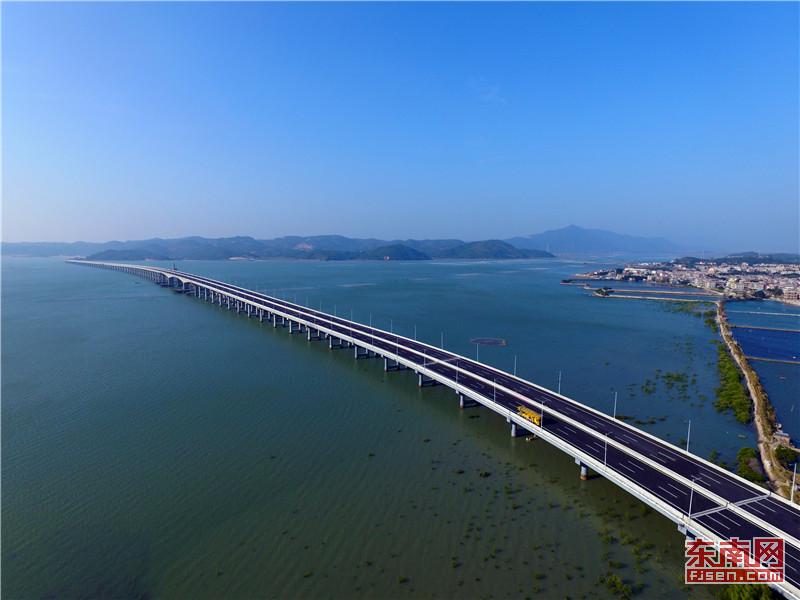 漳江湾特大桥:进入交工检测阶段