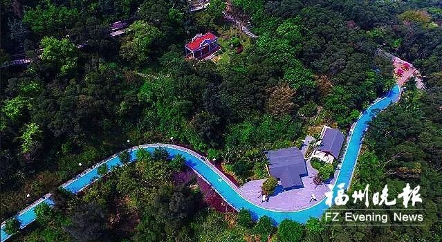 福州长乐南山生态公园三期正紧张建设 预计10月完工