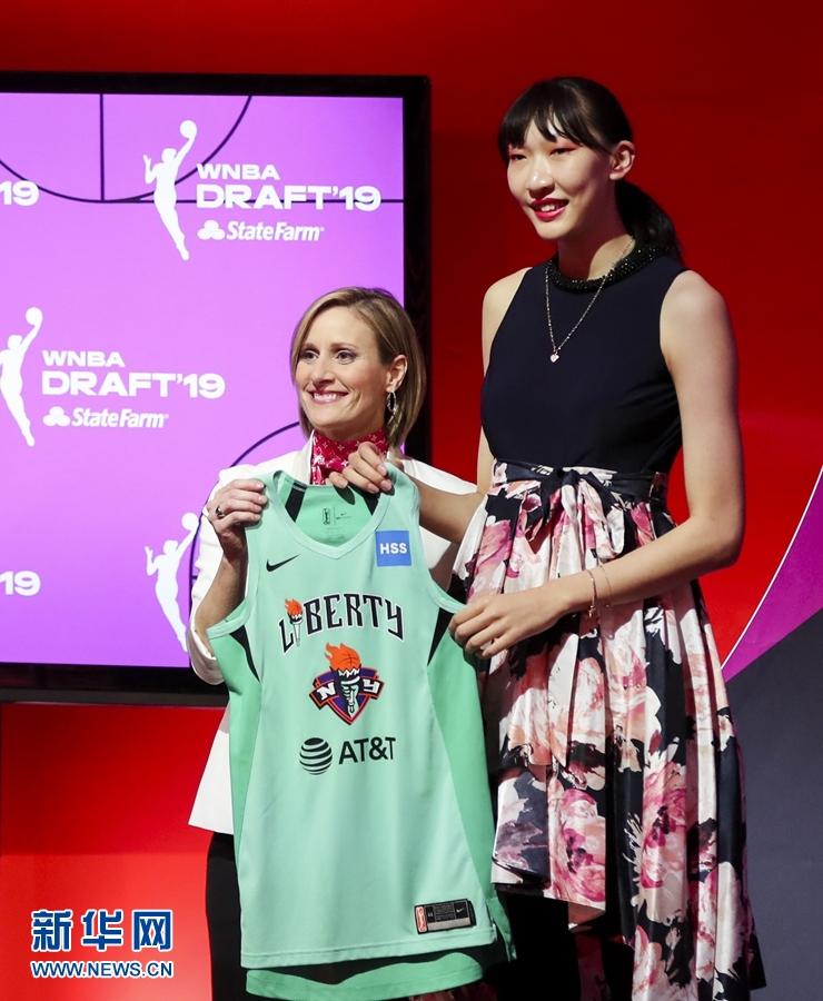 韩旭WNBA纽约自由人怎么回事 中国女篮中锋韩旭选秀被选中