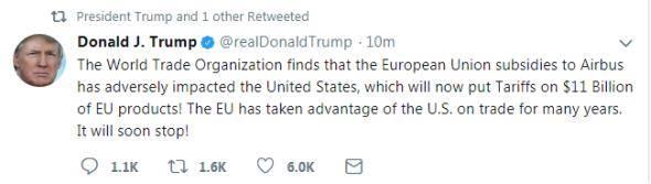 [特朗普对欧盟征税对中国的影响]特朗普对欧盟征税怎么回事 特朗普为什么对欧盟征税 欧盟回应