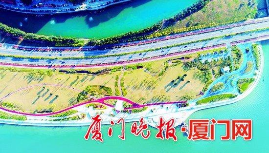 厦门马銮湾新城建设40公里长多彩西湾 首段带状公园已开放